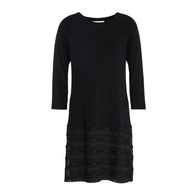 BAILEY 44 ミニワンピース&ドレス ブラック S レーヨン 94% / ポリウレタン 6% / ポリエステル ミニワンピース&ドレス