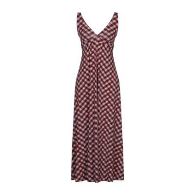 SIYU ロングワンピース&ドレス ボルドー 36 ナイロン 72% / ポリウレタン 28% ロングワンピース&ドレス