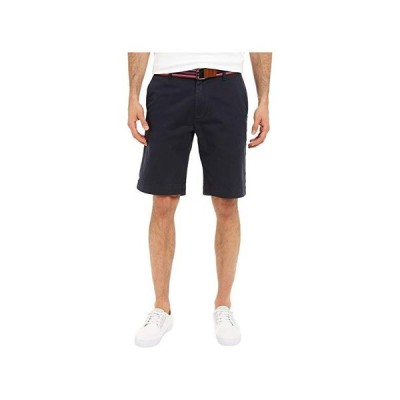 U.S. POLO ASSN. Hartford Flat Front Twill Shorts メンズ 半ズボン Club Navy