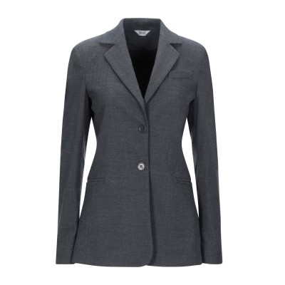 リュー ジョー LIU •JO テーラードジャケット グレー 44 ポリエステル 78% / レーヨン 19% / ポリウレタン 3% テーラードジ