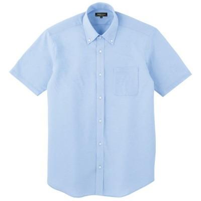 コーコス Z半袖シャツ サックス 5L ※取寄品 57