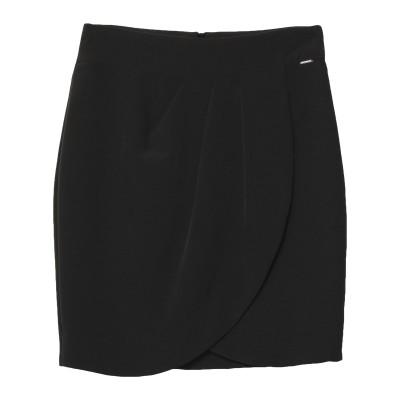 シルビアンヒーチ SILVIAN HEACH ミディスカート ブラック XS ポリエステル 90% / ポリウレタン 10% ミディスカート