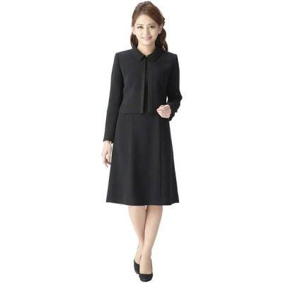 (マーガレット)marguerite m452-19 ブラックフォーマル 喪服 礼服 レディース フォーマル アンサンブル 標準サイズ7号?