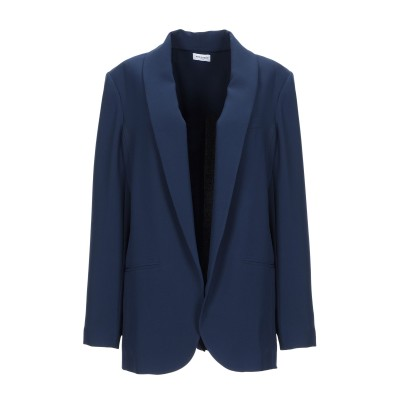 RUE DU BAC テーラードジャケット ブルー 44 ポリエステル 91% / ポリウレタン 9% テーラードジャケット
