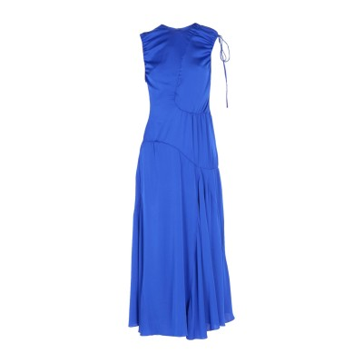 エラリー ELLERY ロングワンピース&ドレス ブライトブルー 12 シルク 92% / ポリウレタン® 8% ロングワンピース&ドレス