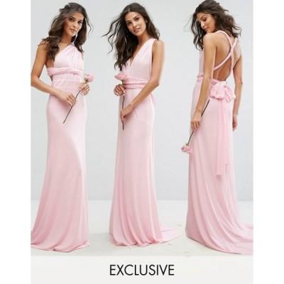 ティエフエヌシー レディース ワンピース トップス TFNC Multiway Maxi Bridesmaid Dress