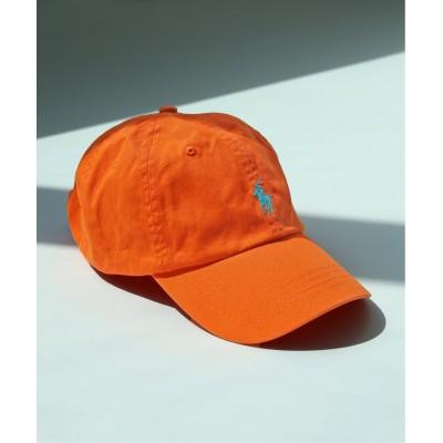 エディフィス 【POLO RALPH LAUREN / ポロ ラルフローレン】 販路限定 CLS SPORTS CAP HAT オレンジ A フリー