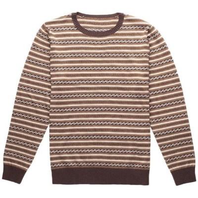 リズム メンズ ニット・セーター アウター Rhythm Vintage Stripe Knit Sweater
