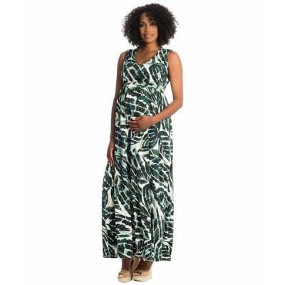 エベリーグレイ ワンピース トップス レディース Valeria Maternity/Nursing Dress Palm