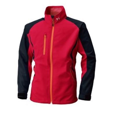 4930269025376 空調風神服 BK6017 長袖ジャケット 色:レッド×ブラック サイズ:M
