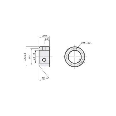 スタンダードセットカラー 樹脂(POM) 岩田製作所 SC0306X
