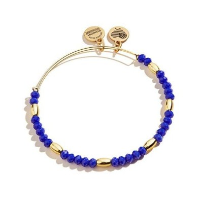 Alex and Ani Balance Bead II Bracelet Royal Blue One Size (A20BBEAD05SG)