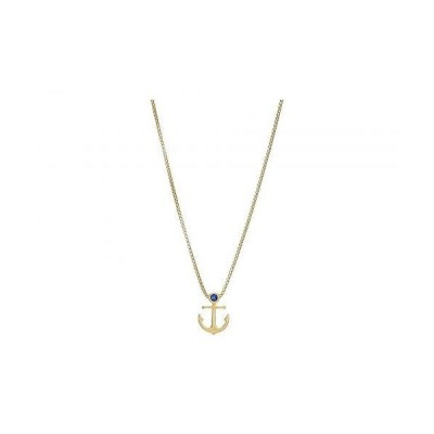 """Alex and Ani アレックスアンドアニー レディース 女性用 ジュエリー 宝飾品 ネックレス 18"""" Anchor Adjustable Necklace - 14KT Gold Plated"""