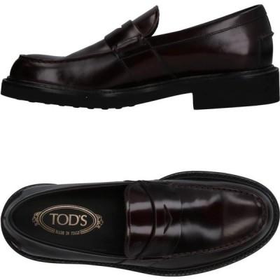 トッズ TOD'S メンズ ローファー シューズ・靴 loafers Deep purple