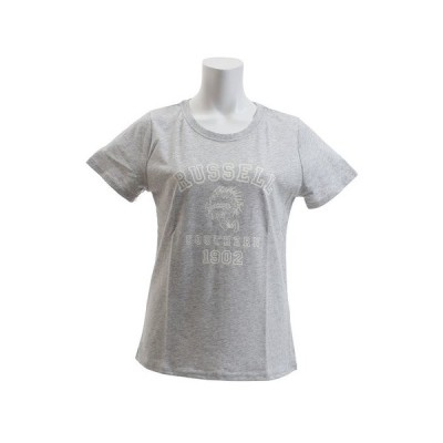 ラッセル(RUSSELL) 【多少の傷汚れありの為大奉仕】Tシャツ 半袖 レディース NB INDIAN RBL18S1002MGRY (レディース)