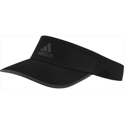[adidas]アディダス RUN VISOR AERO RDY (25647)(GM4523) ブラック/ブラック/ブラックリフレクティブ[取寄商品]