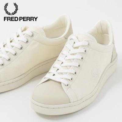 フレッドペリー Fred Perry 正規販売店 スニーカー シューズ ブロー Breauxミリタリー キャンバス ホワイト