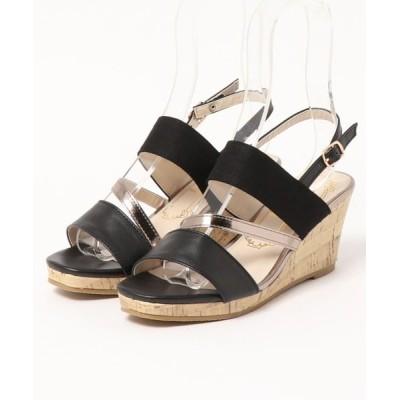 Parade ワシントン靴店 / 【厚底】ウェッジバンドサンダル 8100 WOMEN シューズ > サンダル