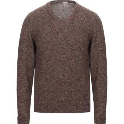 マッシモ アルバ MASSIMO ALBA メンズ ニット・セーター トップス sweater Brown