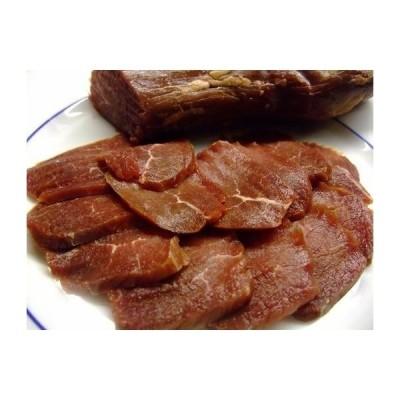 冷凍 蝦夷鹿(しか)のもも肉の生ハム1Kg(約3〜5パック)