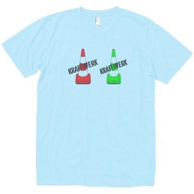 クラフトワーク Kraftwerk  音楽・ロック・シネマ Tシャツ 水色