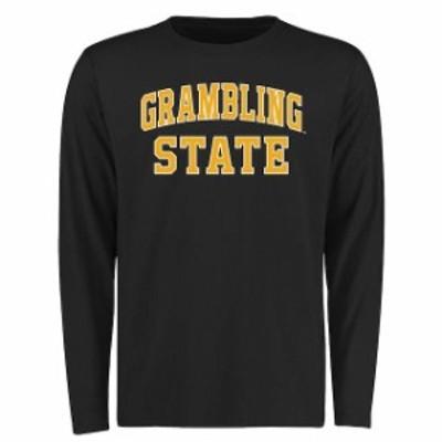 Fanatics Branded ファナティクス ブランド スポーツ用品  Grambling Tigers Black Everyday Long Sleeve T-Shirt