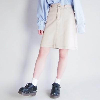 179ダブルジー 179/WG 台形スカート (28オフホワイト)