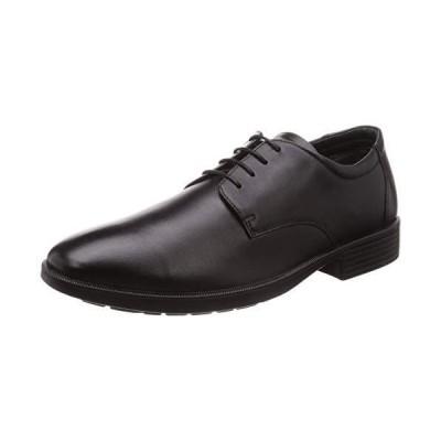 [オールデイウォーク] ビジネスシューズ 革靴 防水 幅広 本革 4E メンズ ADM 0060 ブラック 26.5 cm
