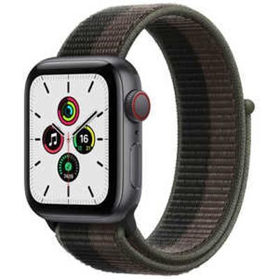 アップル Apple Watch SE(GPS + Cellular)40mmスペースグレイアルミニウム MKR33JA