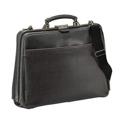 [豊岡製 かばん] ビジネスバッグ 大開き ダレスバッグ 2WAY ショルダー