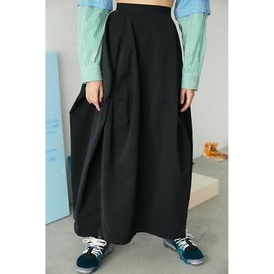 <nagonstans(Women)/ナゴンスタンス> skirt(470ES831-0350) クロ【三越伊勢丹/公式】