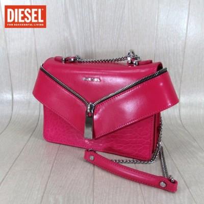 ディーゼル DIESEL レディース ショルダーバッグ ミニショルダー X05174 P1557/T4225/ピンク