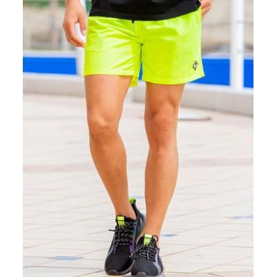 【シルバーバレット】 C.V.R.A メッシュポケットナイロンショーツ メンズ ショートパンツ ショーツ 短パン 膝上 ひざ上 ブランド 総柄 メッシュ ナイロン  メンズ イエロー 44(M) SILVER BULLET
