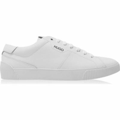 ヒューゴ ボス Hugo メンズ スニーカー シューズ・靴 Zero Smooth Leather Trainers White
