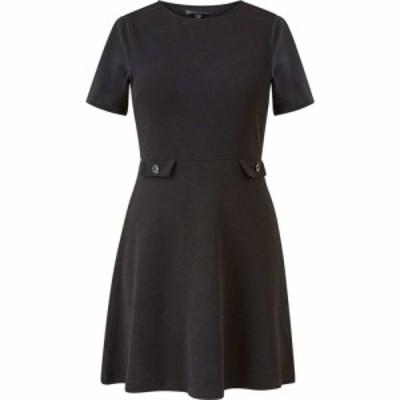 メラ ロンドン Mela London レディース ワンピース ラップドレス ワンピース・ドレス Polka Dot Printed Wrap Effect Dress Black