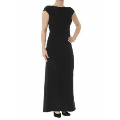 Betsy & Adam ベッツィアンドアダム ファッション ドレス Betsy & Adam NEW Black Womens Size 2P Petite Bow Back Sheath Dress