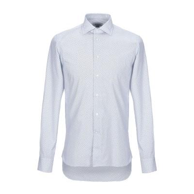 BRANCACCIO シャツ ブルー 38 コットン 100% シャツ