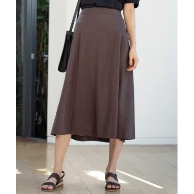 J.PRESS/ジェイプレス 【洗える】マルソースパンボイル スカート ブラウン系 11