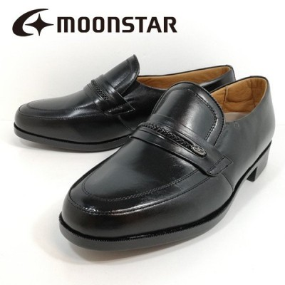 ミスターブラウン ムーンスター 紳士靴 革靴 幅広 1239-100 5E