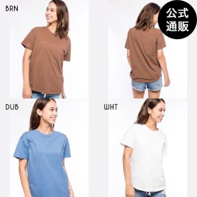 【SALE】2021 ビラボン レディース TEE SHIRTS ラウンドヘムTシャツ 2021年春夏モデル  全3色 M/L BILLABONG