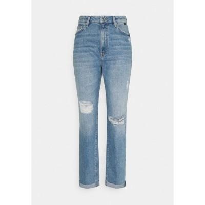 マビ デニムパンツ レディース ボトムス STELLA - Relaxed fit jeans - light distressed denim