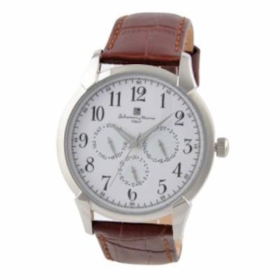 サルバトーレマーラ 腕時計 メンズ Salvatore Marra SM18107-SSWH