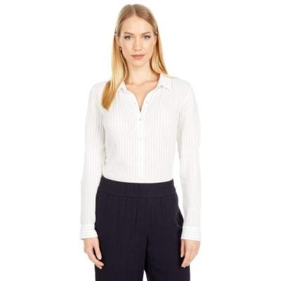 エイリーンフィッシャー レディース シャツ トップス Petite Classic Collar Shirt