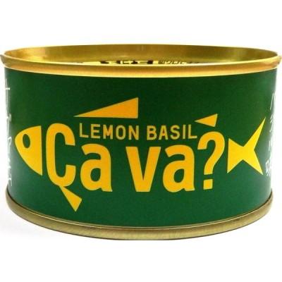 缶詰 サヴァ缶 国産サバのレモンバジル味 岩手県産 170g 1個