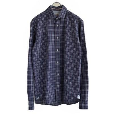[50%OFF] FIL NOIR(フィルノワール) イタリアン ビンテージ チェックシャツ