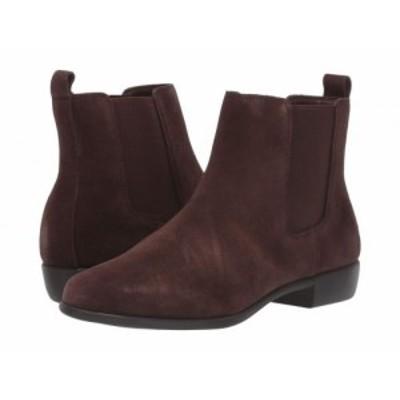 Aerosoles エアロソールズ レディース 女性用 シューズ 靴 ブーツ アンクル ショートブーツ Step Dance Brown Suede【送料無料】
