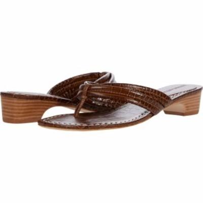 ベルナルド Bernardo レディース ビーチサンダル シューズ・靴 Miami Demi Heel Sandals Tobacco Embossed Croco