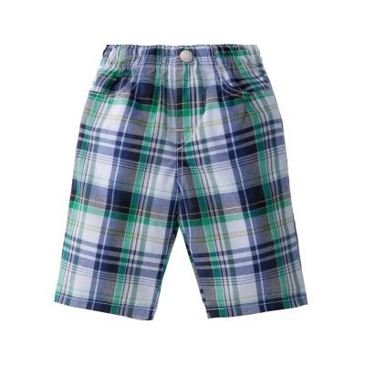 男の子格子柄ハーフパンツ パンツ, Kids' Pants