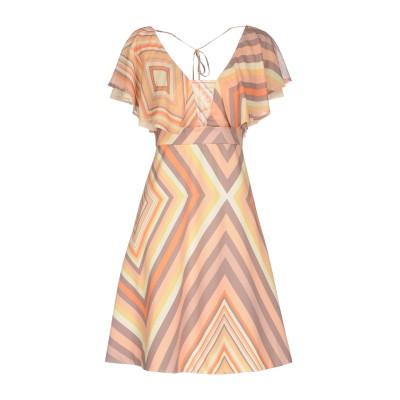 NO SECRETS ミニワンピース&ドレス オレンジ 40 100% ポリエステル ミニワンピース&ドレス