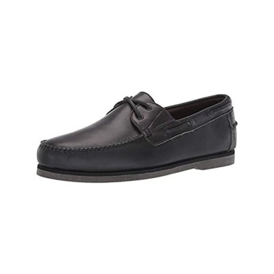 Allen Edmonds Men's Force 10 Boat Shoe, Charcoal, 10.5 Medium US